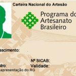 Carteira Nacional do Artesão poderá ser solicitada na Praça da Cultura neste sábado