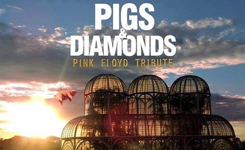 Tributo à banda Pink Floyd será apresentado no Teatro Bruno Nitz neste sábado