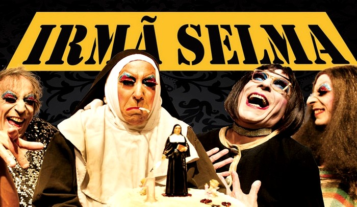 "Teatro Bruno Nitz recebe show de humor ""Irmã Selma"" nesta sexta-feira"
