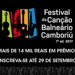 Inscrições para o Festival da Canção de Balneário Camboriú terminam nesta sexta-feira