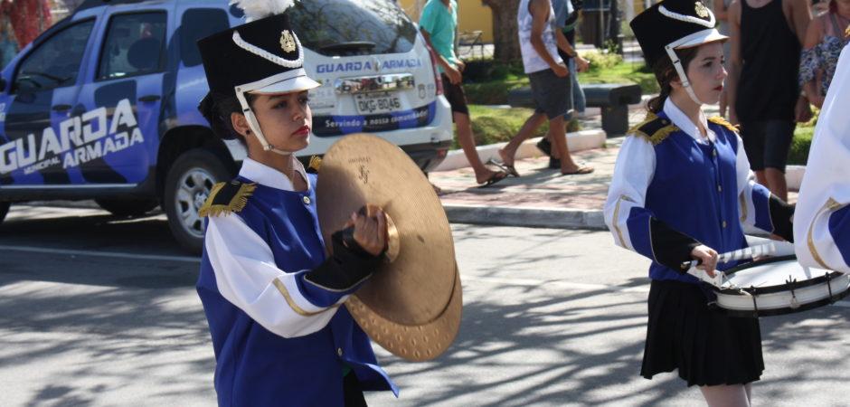 Mostra de Bandas Escolares movimentou Praça do Pescador no fim de semana