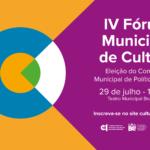 Como participar das eleições do Fórum Municipal de Cultura?