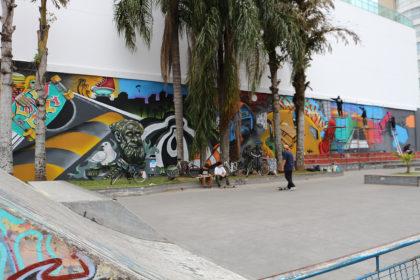 Projeto patrocinado pela LIC conta a história do skate na cidade através do grafite