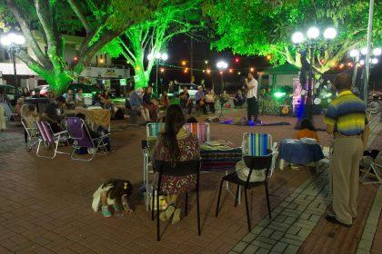 Sarau da Tainha celebra aniversário de três anos com evento na Praça do Pescador
