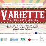 "Teatro Municipal recebe evento ""Variette – O Circo da Magia"""