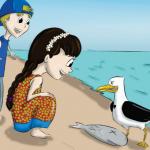 Lançamento do Livro Tiaguinho, Ritinha e a gaivota Felicidade