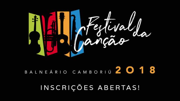 Inscrições Abertas para o 8º Festival da Canção de Balneário Camboriú!