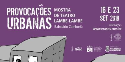 Provocações Urbanas promove mostra e oficina de Teatro Lambe-lambe em Itajaí e Balneário Camboriú