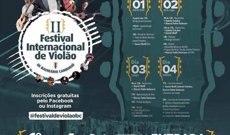Galeria Municipal de Arte recebe duas exposições durante o Festival Internacional de Violão