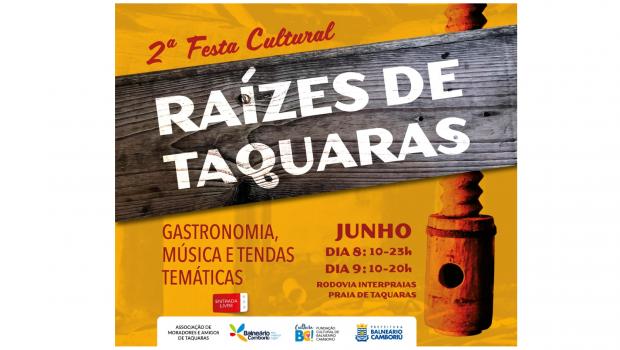 Festa Cultural Raízes de Taquaras será dias 8 e 9 de junho