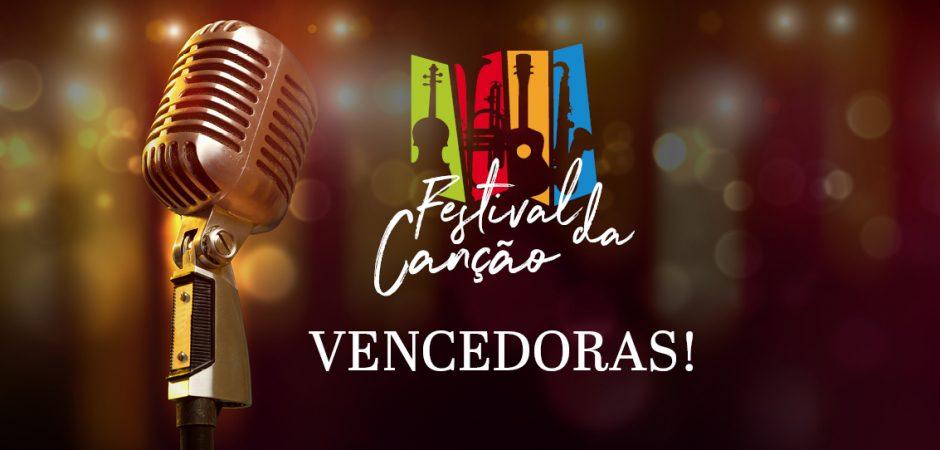 Vencedoras do 9º Festival da Canção de Balneário Camboriú