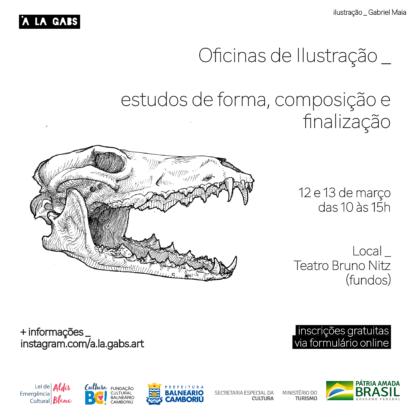 Lei Aldir Blanc: Inscrições abertas para oficinas gratuitas de ilustração