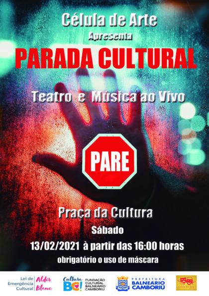 Parada Cultural – Lei Aldir Blanc