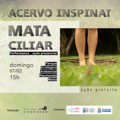 Mata Ciliar – Performance – Lei Aldir Blanc