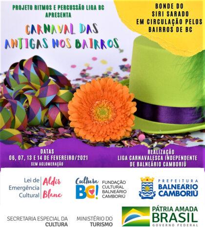 Liga Carnavalesca levará marchinhas e sambas antigos aos bairros de Balneário Camboriú