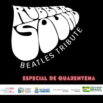 Banda Rubber Sound faz live com clássicos dos Beatles a partir desta quarta-feira