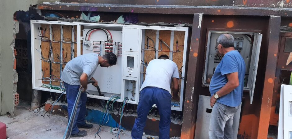 Fundação Cultural faz melhoria nas instalações elétricas da Praça da Cultura