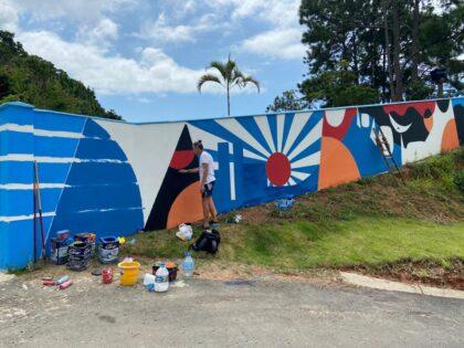 Avenida Panorâmica terá pintura mural