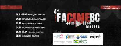 Exibições de filmes da Mostra FacineBC começam neste domingo