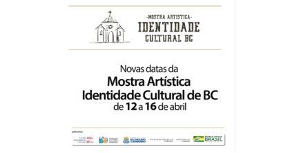 Mostra Artística Identidade Cultural de Balneário Camboriú começa dia 12