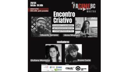 Projeto FacineBC recebe apoio do Pontos MIS/SP para o Encontro Criativo