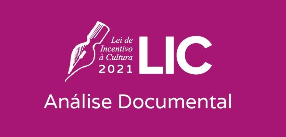 LIC 2021 – análise documental – retificada