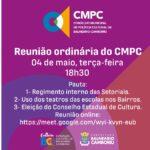 Reunião do CMPC