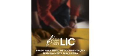 LIC: Prazo para envio de documentação termina nesta terça-feira