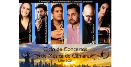 Ciclo de Concertos de Música de Câmara on-line será de 28 a 31 de julho
