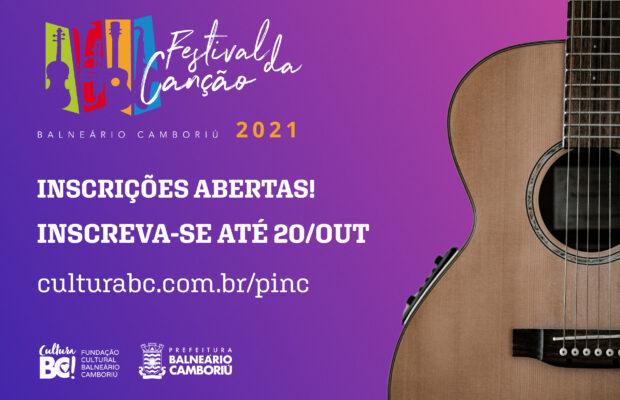 10º FESTIVAL DA CANÇÃO DE BALNEÁRIO CAMBORIÚ