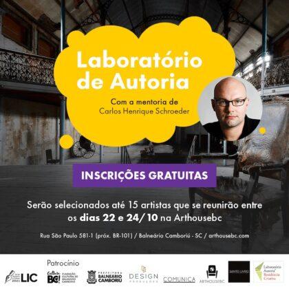 Artistas participam de Laboratório de Autoria